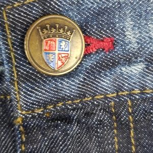 7th 38 Jeans - 7th 38 Relax Fit Jeans Embroidered Mens 40